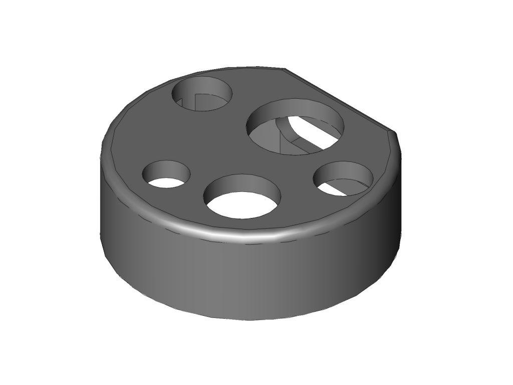C-cover compatible with Fujinon EG-590ZW