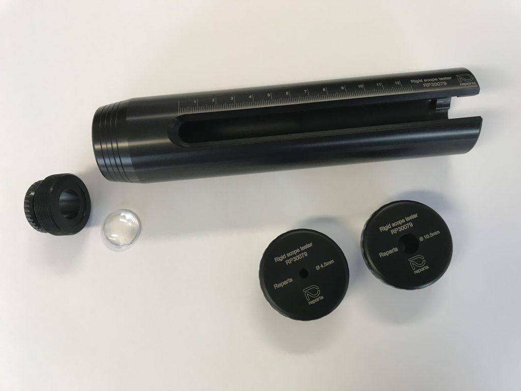 Rigid scope tester
